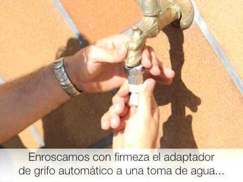 Nebulizaci n de agua en tu jard n youtube for Nebulizadores de agua