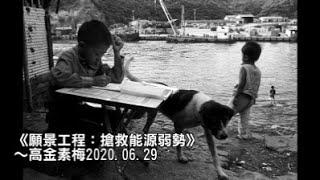 《願景工程:搶救能源弱勢》~高金素梅2020.06.29