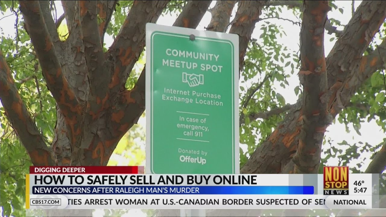 How to safely sell and buy online