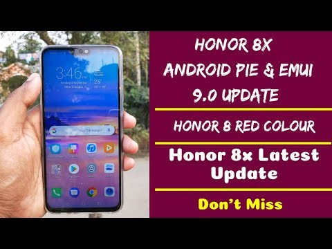 Honor 8X Android Pie Update, EMUI 9 0, Honor 8x Red | Full Details