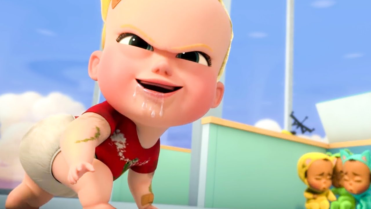 Crazy Cookie Baby Scene The Boss Baby Back In Business 2018 Youtube