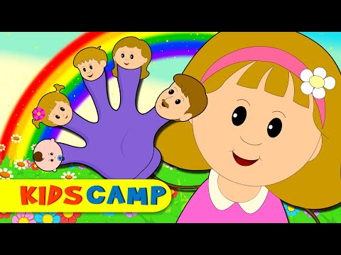 Thumbnail: Finger Family | Nursery Rhymes | Popular Rhymes from Kidscamp