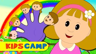 finger family   nursery rhymes   popular rhymes from kidscamp