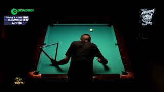 #17 - Shan DAMANI vs Vilmos FOLDES - 49th Terry Stonier 9-Ball Reunion!