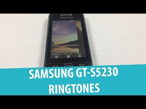 Стандартные рингтоны Samsung GT-S5230 Star