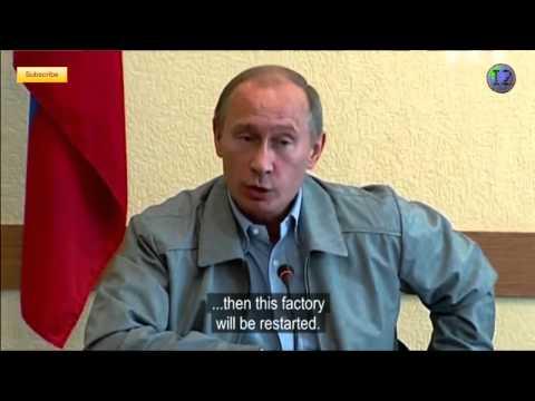 Vladimir Putin takes Oleg Deripaska to task