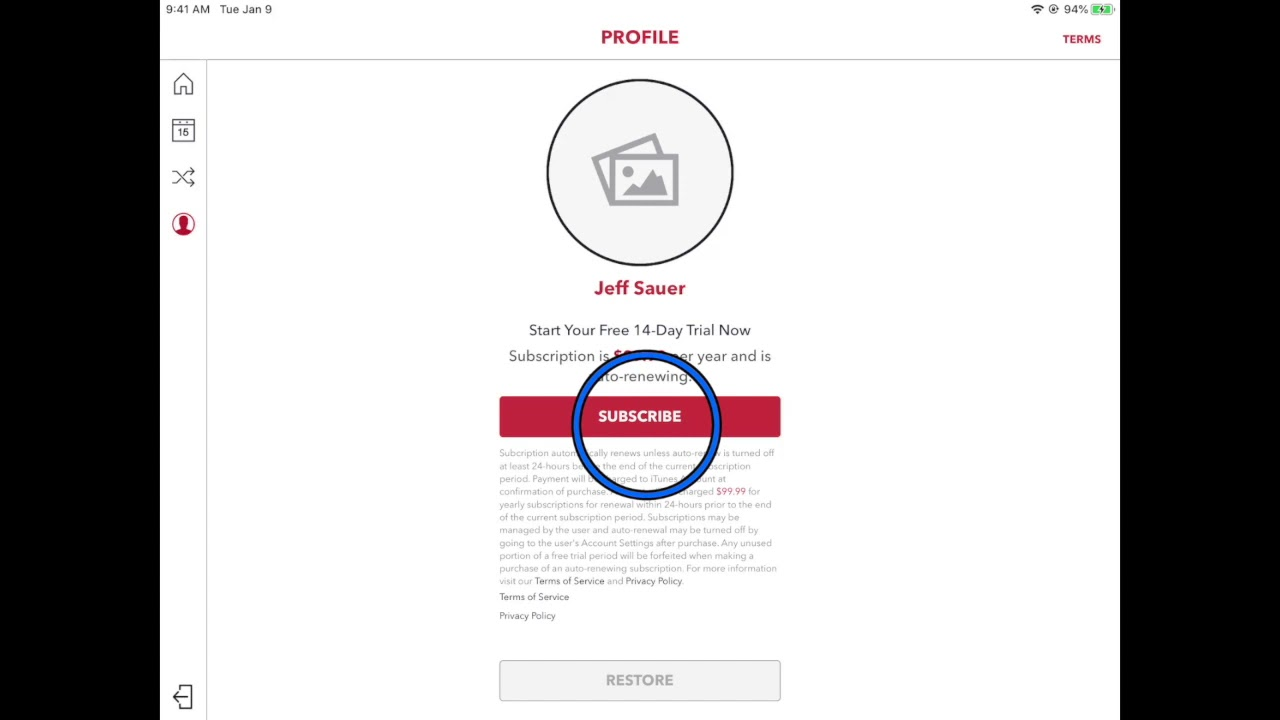 Email Signup with DC1
