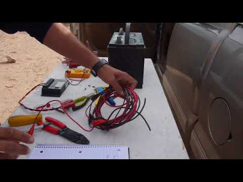 Solar Charge Controller in truck to charge deep cycle battery