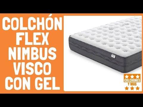 COLCHON FLEX NIMBUS VISCO CON GEL