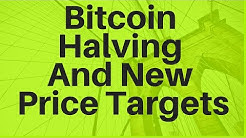 Bitcoin Halving (And New Bitcoin Price Targets)
