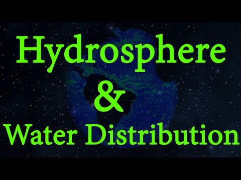 What is Hydrosphere? | Water Distribution | Environmental Science | EVS | LetsTute
