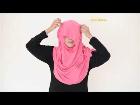 Tutorial Cara Pakai Tudung Instant 2 Muka (2 Loops) Hijab 2015 Cotton from YouTube · Duration:  1 minutes 6 seconds
