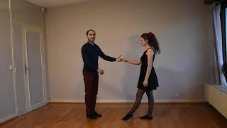 Cours rock gratuit : la ligne de danse (débutant)