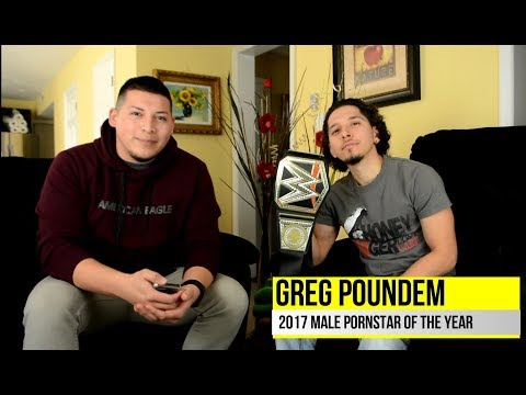 "Greg Poundem ""2017 Pornstar of the Year"""