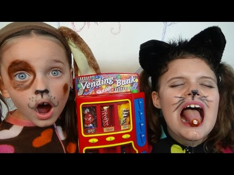 Thumbnail: Bad Baby Kitty Victoria Puppy Annabelle Candy Machine Tooth Toy Freaks Hidden Egg