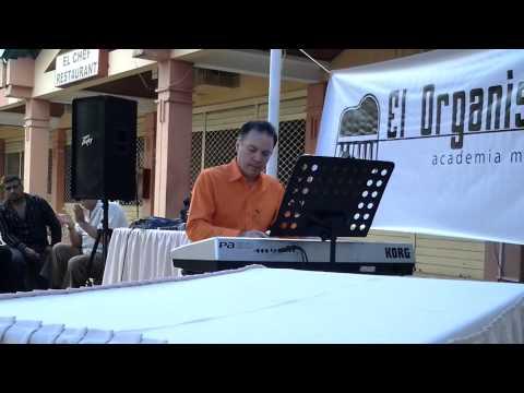 El profesor de la academia el organista