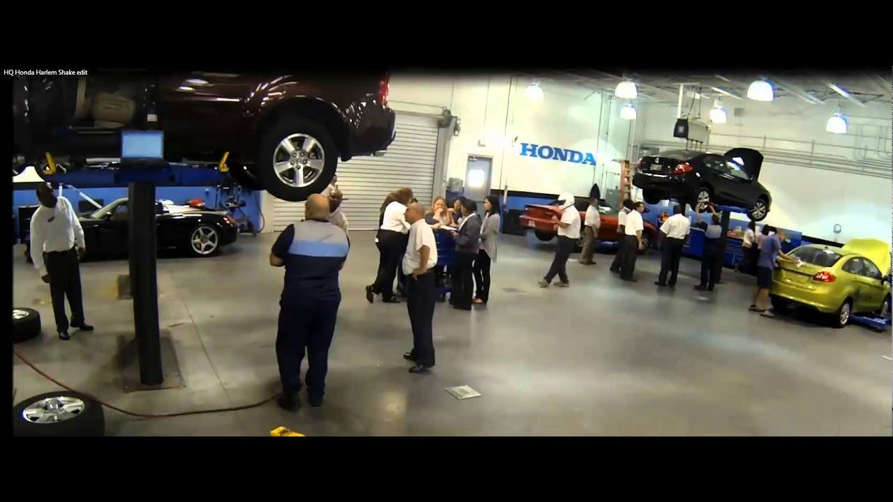 Harlem Shake Headquarter Honda Edition