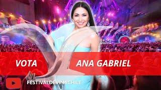 VOTA ANA GABRIEL: Fans votan por el artista más popular de la historia del #FESTIVALDEVIÑA