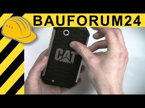 CAT B15 Unboxing - Outdoor Handy von Caterpillar im ersten Hands-on Test