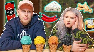 Testataan oudoimmat jäätelömaut! feat. Pinkku Pinsku