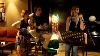 """In a manner of speaking (Nouvelle Vague cover) by """"Athina+the acoustic babies"""""""