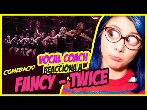 TWICE COMEBACK - FANCY | VOCAL COACH REACCIONA | Gret Rocha