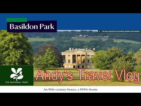 Andy's National Trust Travel Blogs: Basildon Park, Oxfordshire