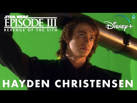 Hayden Christensen Behind The Scenes Star Wars Revenge Of The Sith