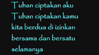 Gambar cover Nagita Slavina Feat. Raffi Ahmad - Kamulah takdirku (lirik)