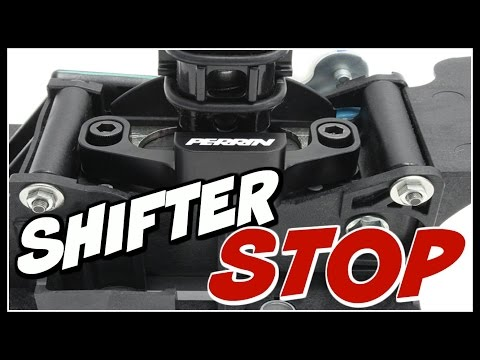 PERRIN Shifter Stop Install & Review 2017 WRX