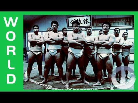 Japanese High School Sumo on Trans World Sport