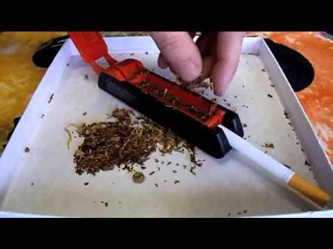 Μηχανή για άδεια τσιγάρα χειροκίνητη + Οδηγίες Χρήσης