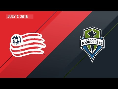 HIGHLIGHTS: New England Revolution vs. Seattle Sounders FC | July 7, 2018