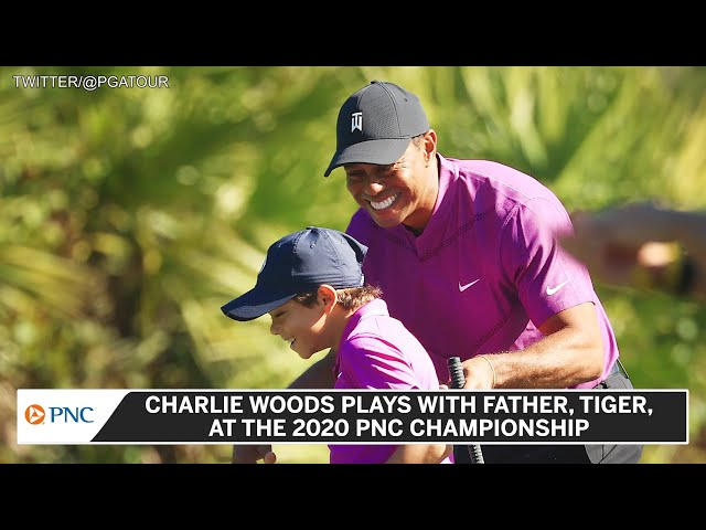 Tiger Woods And Son, Charlie, Rock Father/Son PNC Championship