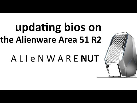 Updating BIOS on the Alienware Area 51 R2 - YouTube
