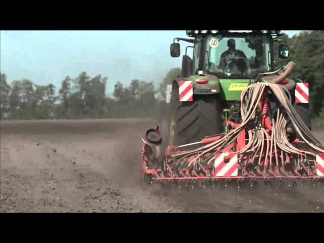 BKT AGRIMAX FORCE during seeding