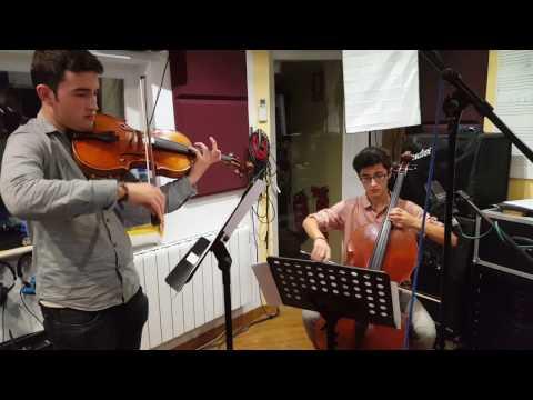 Shostakovich, Preludio para Violonchelo y Viola. Miquel y Daniel Benito