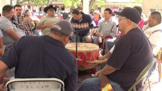 Gourd Dance Honoring Veteran Bernard Duran - Part 2 - Old Town Albuquerque, NM