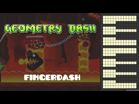 Geometry Dash 2.1 - FINGERDASH [Piano Cover] (GD)