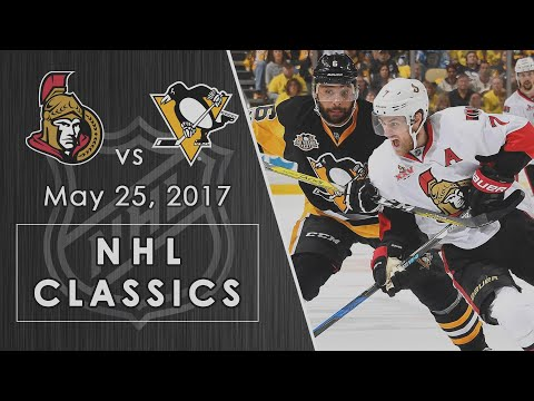 NHL Classics: Ottawa Senators Vs. Pittsburgh Penguins | 05/25/2017 | NBC Sports