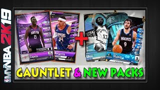 MyNBA2k19 | GAUNTLET PREVIEW + NEW PACKS | Event Elite Clint Capala | TBT Rookie Stars Autumn |