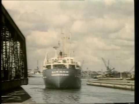 London  Docks   avant 1970