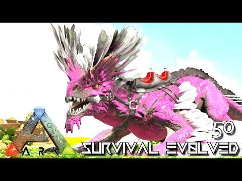 ARK: SURVIVAL EVOLVED - ALPHA ROCK DRAKE & THYLACOLEO E50 !!! ( ARK EXTINCTION CORE MODDED )