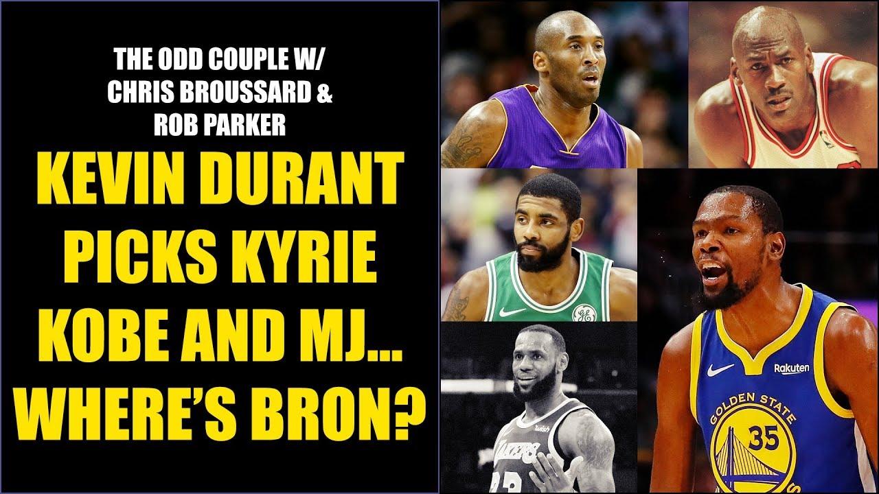 7b521753c6cb Chris Broussard   Rob Parker  Did Kevin Durant Snub LeBron James ...