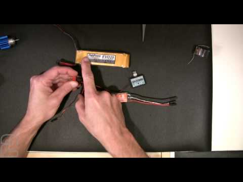2 Battery Boat Wiring Diagram 1997 Chevy S10 Headlight Rc Motor And Esc Part 1 Youtube