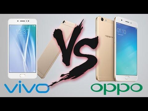 VIVO V5 vs OPPO f1s Comparison