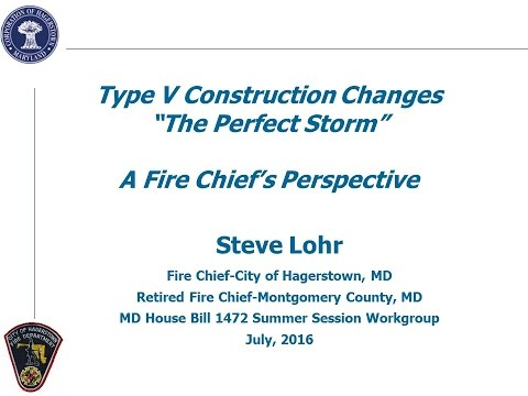 Wood Framing and Fire Risks in Mid-Rise Buildings:  A Fire Service Professional's View