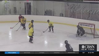 Blind Hockey League Hits The Ice In New Jersey