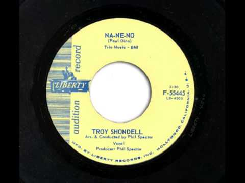 Troy Shondell - NA-NE-NO & Just Because (cover of Lloyd Price 1957 release)