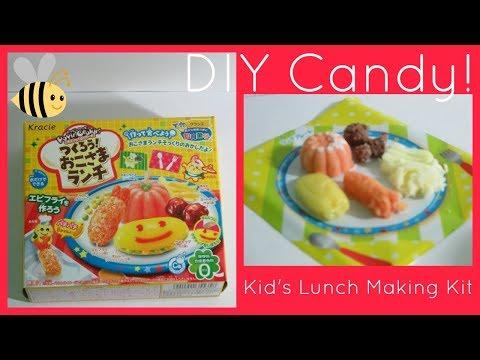 Kracie Popin Cookin Candy DIY Kit! Okosama Lunch (Child's Meal) ENGLISH Tutorial